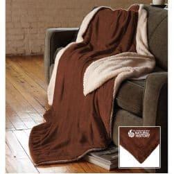 Oversized Micro Mink Sherpa Blanket