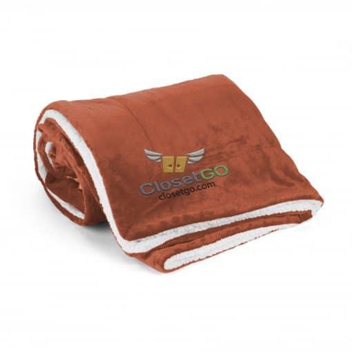 Mink Sherpa Blanket (Solid)