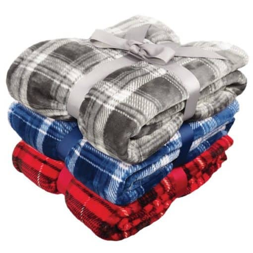 Flannel Plush Pattern Blanket