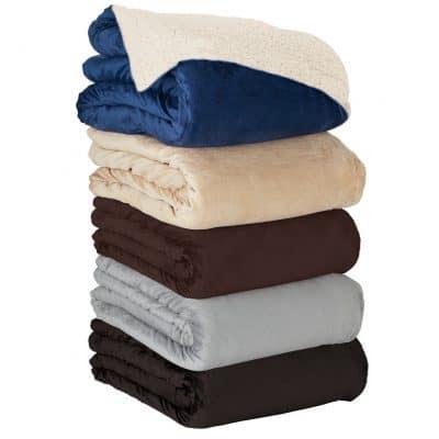 Fairwood Oversize Sherpa Blanket