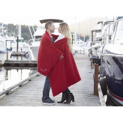 Promo Fleece Blanket (Lasered)