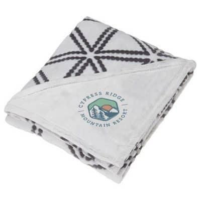 Sculpture Print Ultra Plush Blanket