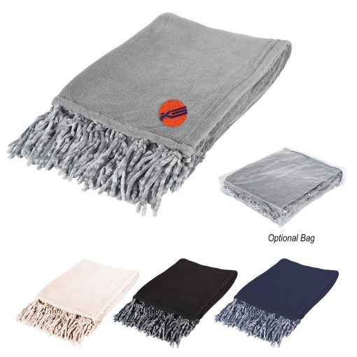 Chateau Chenille Fringed Blanket