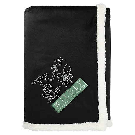 Field & Co. 100% Recycled PET Sherpa Blanket