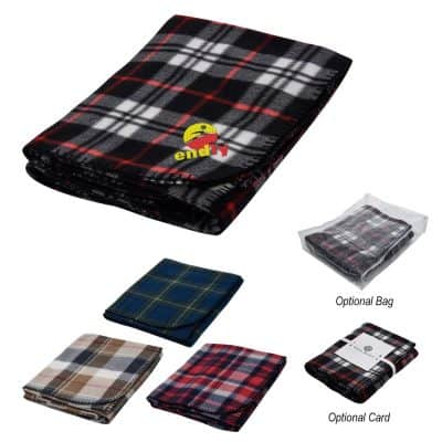 Fraser Fleece Blanket