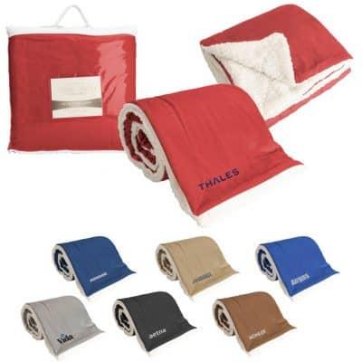Oversized Mink Sherpa Blanket