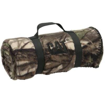Camo Nature Blanket w/Nylon Strap