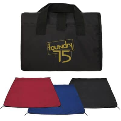 Water Resistant Picnic Blanket w/Stakes