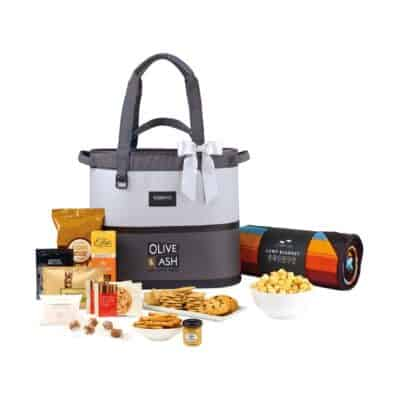 Igloo® Weekend Escape Gourmet Cooler Tote & Slowtide® Blanket Gift Set - High-rise and Iron Gate