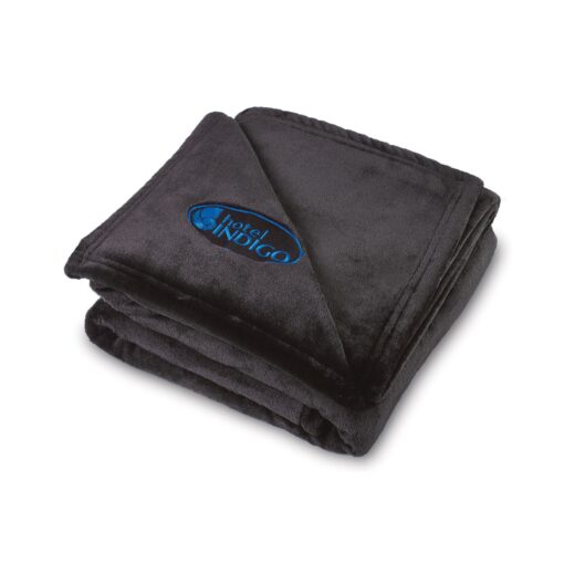 Serenity Plush Throw - Black