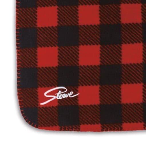 Slowtide Fleece Blanket - Yukon-Red