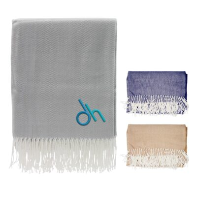Eastport Herringbone Blanket